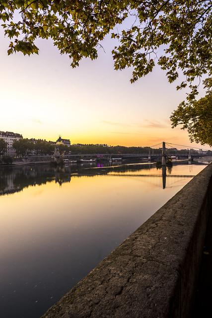 Lyon, France - Autumn Shades