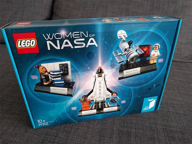 極具意義又精緻的小場景組!!LEGO 21312 IDEAS 系列【在NASA 的女性們】Women of NASA