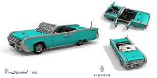 Lincoln Continental Convertible - 1961