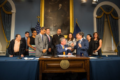 NYC Mayor Bill de Blasio holda public hearings and sign eleven pieces of legislation—Intro. 139-C adds non-tobacco shisha to the City's Smoke-Free Air Act; Intro. 1075-A requires hookah bars to post signage warning of the dangers of hookah smoking; Intro.