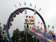Fire Ball And Fun Slide.