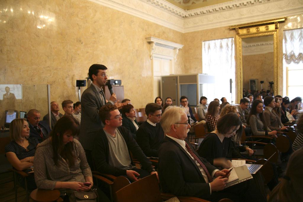 Главный Экономист Citi в России выступил на XXI ежегодных Пашкусовских чтениях в ВШМ СПбГУ