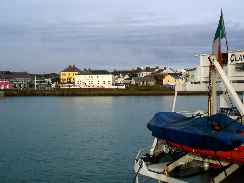 Inishmore ferry port
