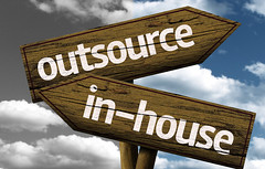 More about outsource and in-house translation