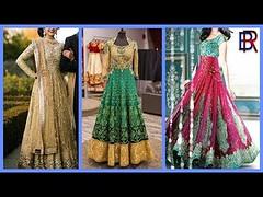 New Stylish Floor Length Dresses For Girls - Latest Fashion 2017-18