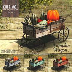 Pumpkin Wagon CHEZ MOI