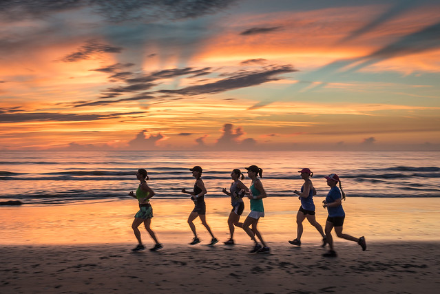 Morning Run - Indian, Nikon D750, AF-S Nikkor 18-35mm f/3.5-4.5G ED
