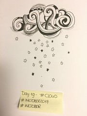 INKtober 2017 - Day 19 - CLOUD