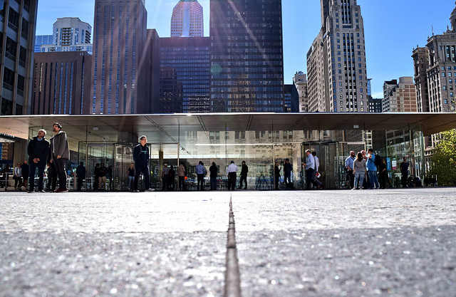 Apple Store (2017) by Norman Foster, Chicago, 2017