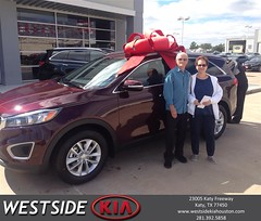 #HappyBirthday to Caroll from Rick Hall at Westside Kia!