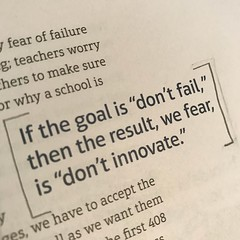 Yes! I've been challenging Ts to transform goals into intentions, a lens to see their work through, a path to growth rather than a specific destination.