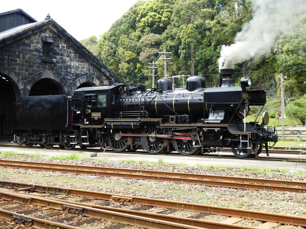 58654 SL Hitoyoshi on shed.
