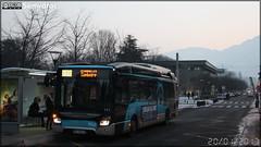 Iveco Bus Urbanway 12 Hybride - Sémitag (Société d'Économie MIxte des Transports publics de l'Agglomération Grenobloise) / TAG (Transports de l'Agglomération Grenobloise) n°556