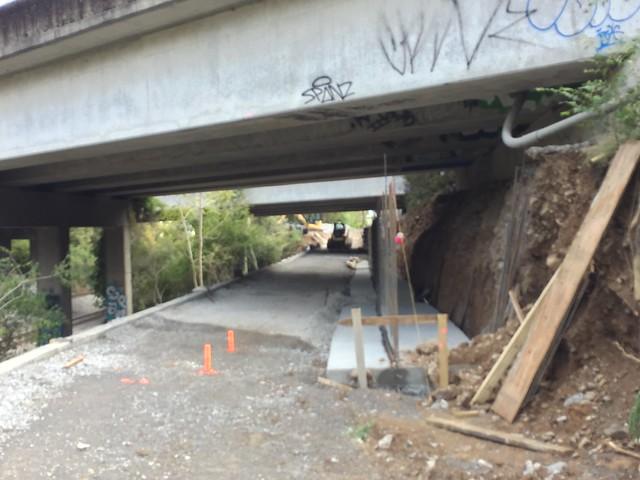 I-440 Greenway Construction | 2017