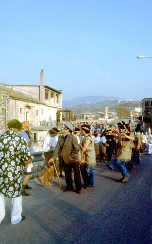 Nusco (AV), 1980, Carnevale nella frazione Ponteromito.