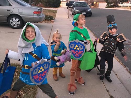 Happy Halloween! (From Link, Zelda, Link, and Link)