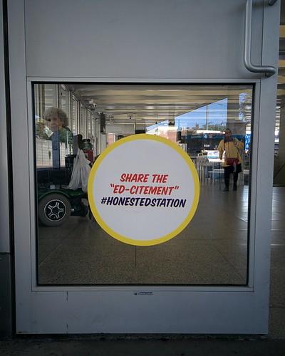 """Share the Ed-citement"" #toronto #theannex #honesteds #honestedstation #bathurststation #bathurst #latergram"