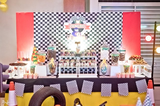 race car theme party sweets (4)