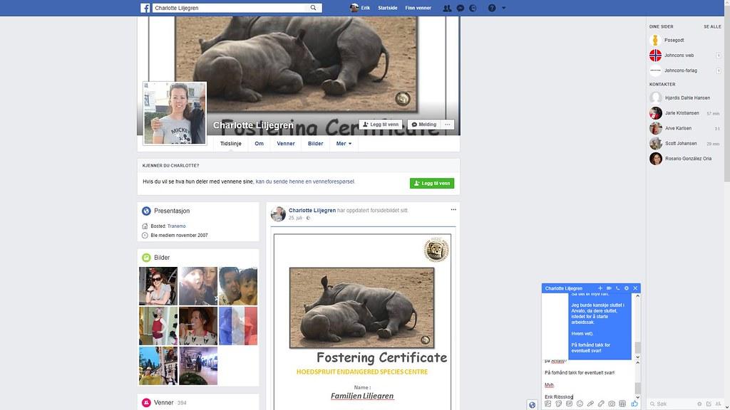 charlotte facebook 1