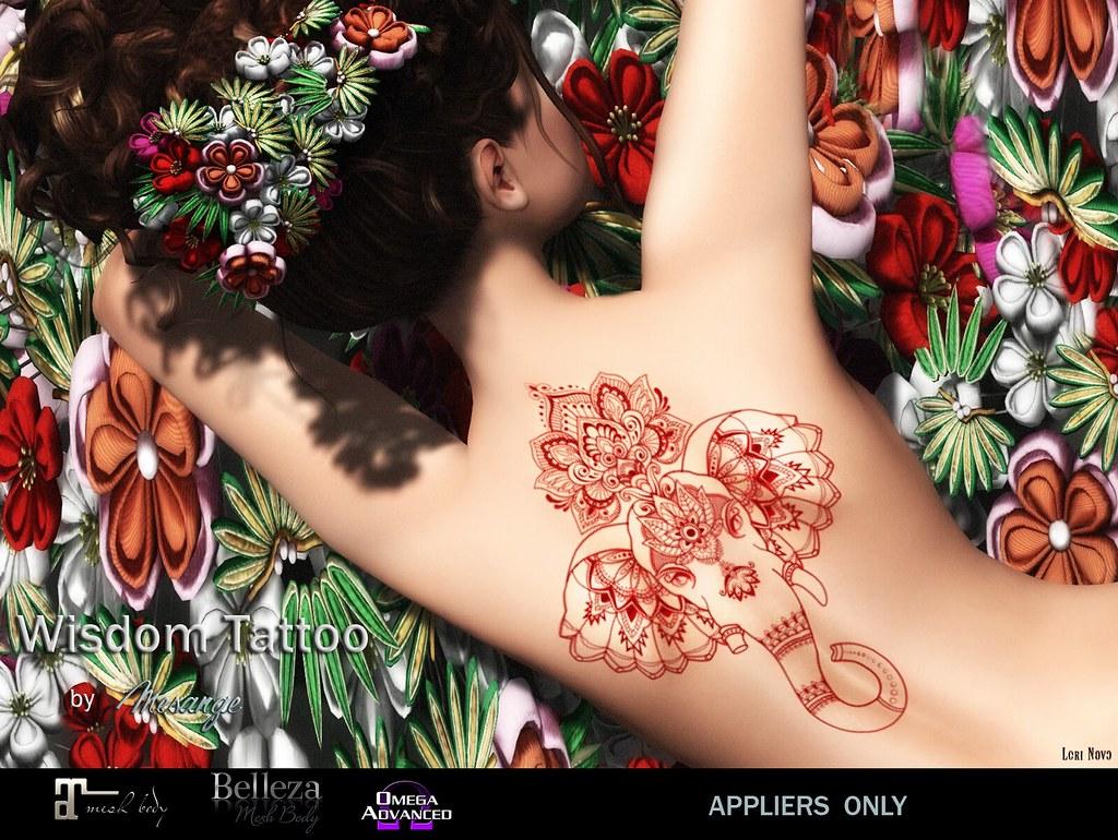 MESANGE - Wisdom Tattoo - TeleportHub.com Live!