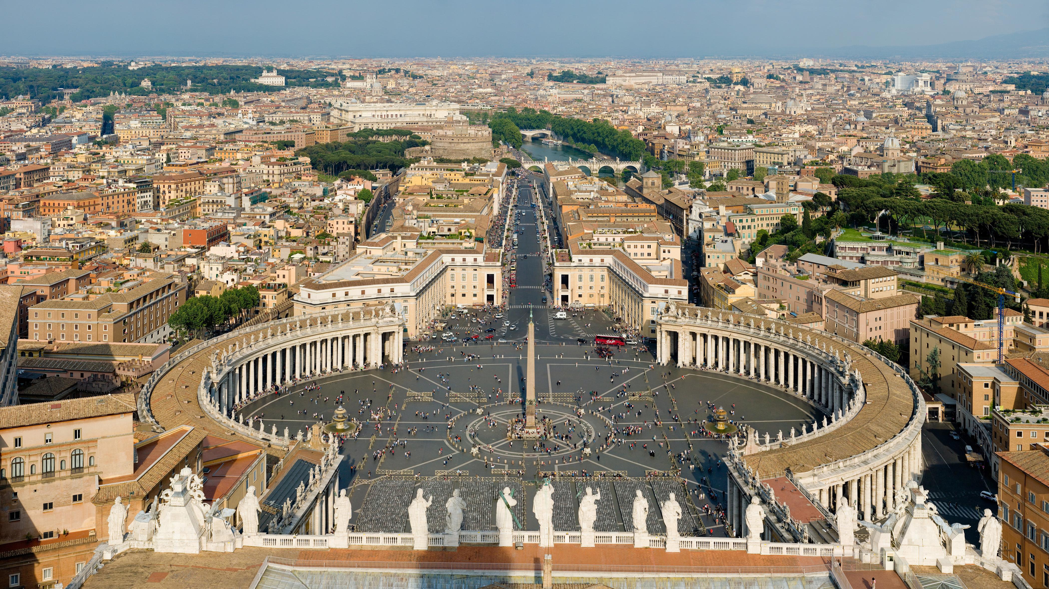 St. Peter's Square, Vatican City.