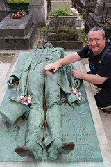 Me at the grave of Victor Noir