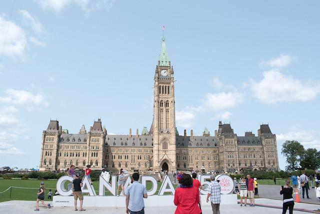 Visiting Canadian Parliament