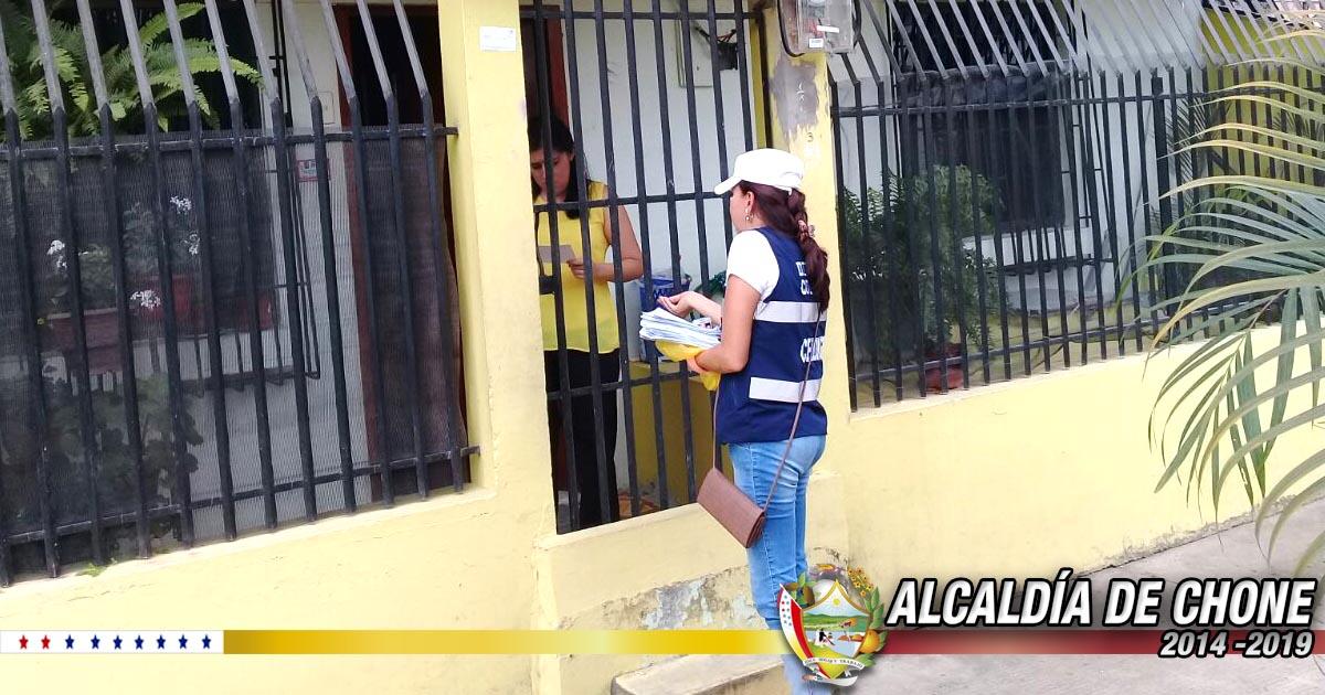 Aguas del Chuno realiza socialización para instalar nuevos medidores en ciudadela Los Chonanas