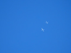 Rare Two Planes Crossing at a gap of 1000ft