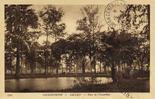COCHINCHINE - BACLIEU - Parc de l' Inspection