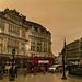 Storm Ophelia skies over London