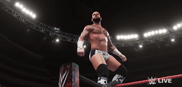 WWE 2K18 CM Punk Mod
