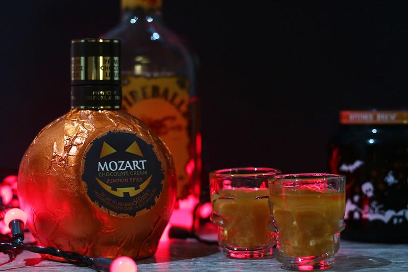 Pumpkin Spice Fireball Shots Mozart