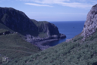 Seil cove in north west cliffs. Island of Nether Lorne