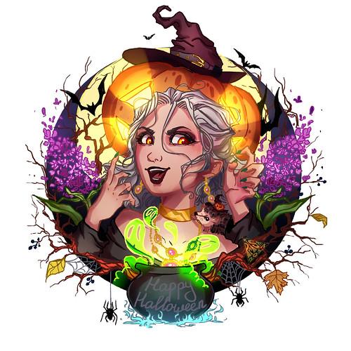 Серокка Хеллоуин by Лиля Дорошенко