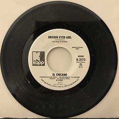 EL CHICANO:BROWN EYED GIRL(RECORD SIDE-A)