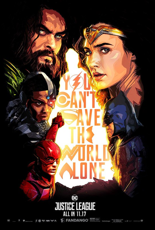 Justice League Comicbook Styled Poster