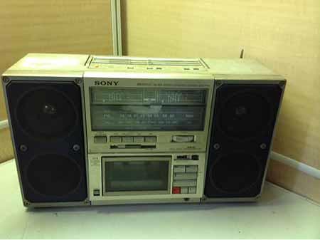SONY STEREO CASSETTE CORDER CFS-F40