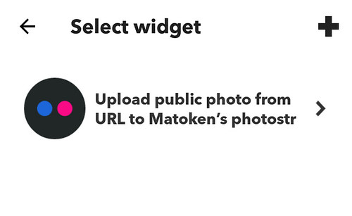 IFTTT to Flickr