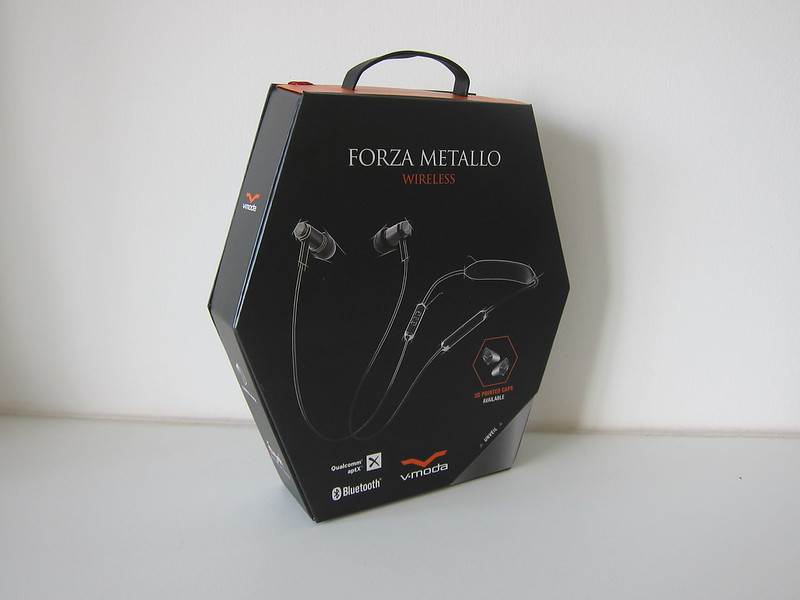 V-MODA Forza Metallo Wireless Earphones - Box
