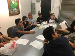 Teen Producers Project Pre Production Meeting
