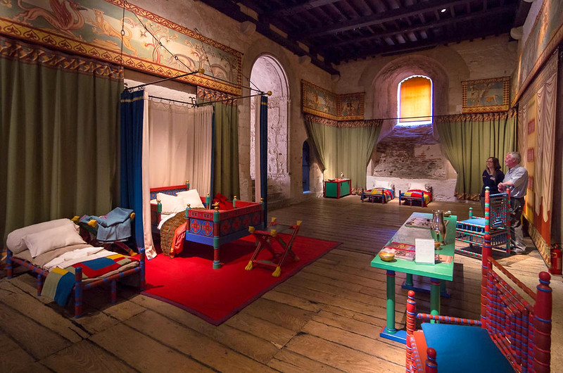 Medieval Visitor's Bedchamber - Dover Castle. Credit Bob Radlinski, flickr