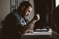 Designer freelancer working b2b business