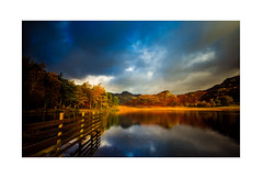 Blea Tarn After an Autumn Storm