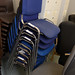 Fabric stacking chair E40