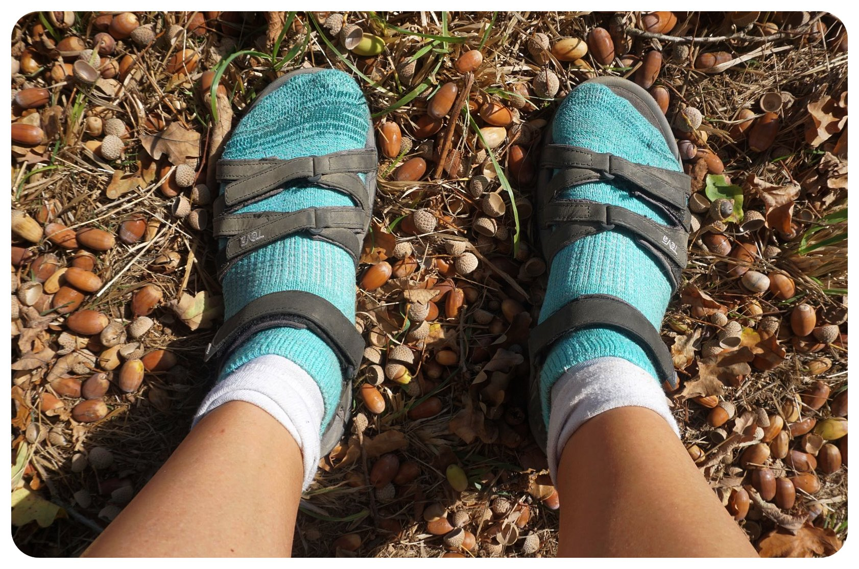 camino de santiago hiking sandals