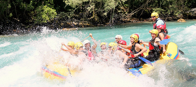 Rafting with your company