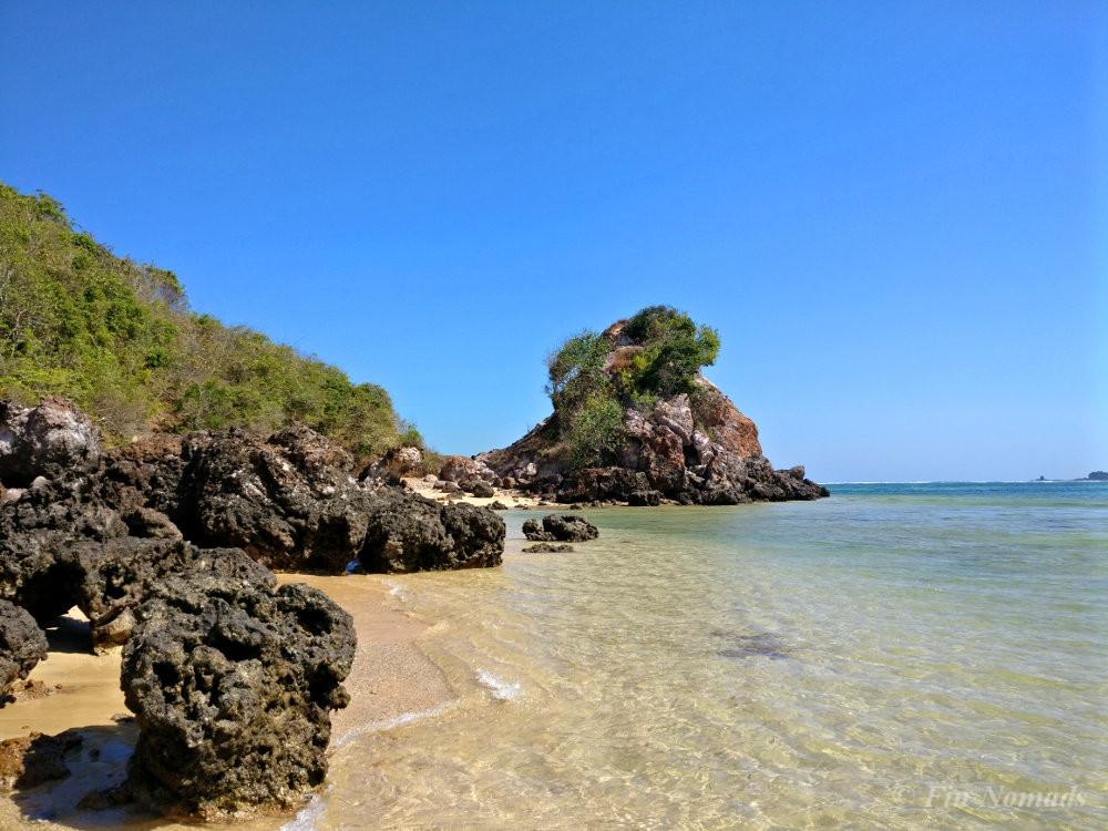 empty beach Kuta