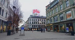 Central Oslo, Norway, Christmas 2014