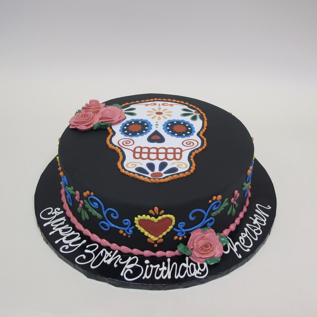 Sugar Skull 30th Birthday 301149